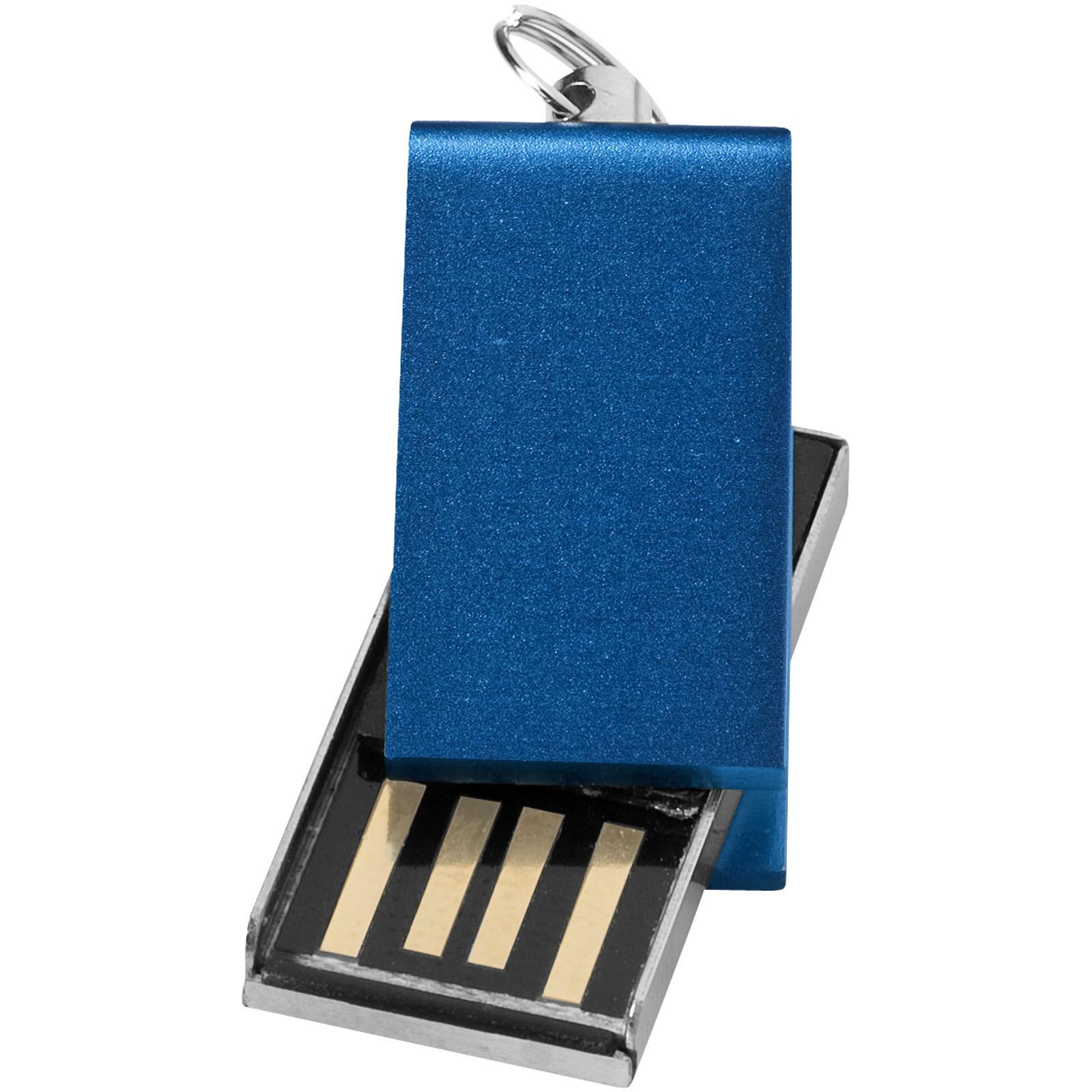 Mini Rotate USB - Modrá / 32GB