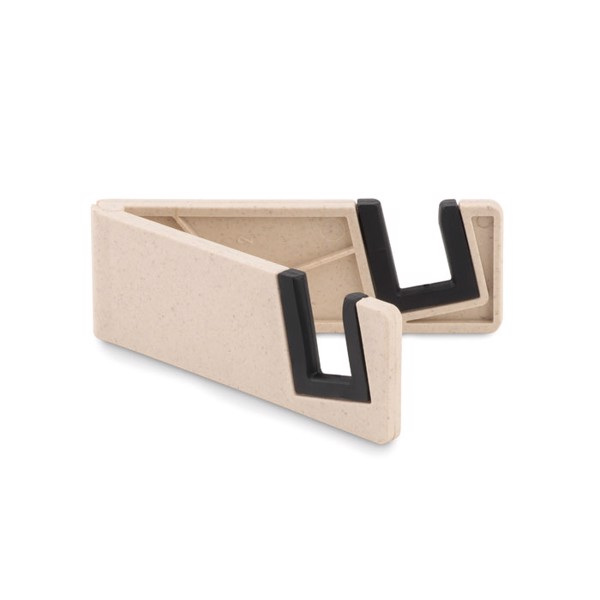 Phone holder bamboo fibre/PP Standol+ - White