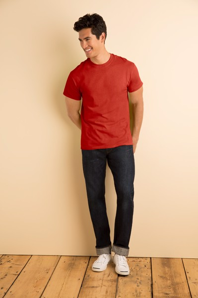 T-Shirt Heavy Cotton - Red / XXL