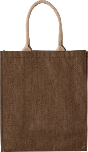 Polyester shopping bag - Brown