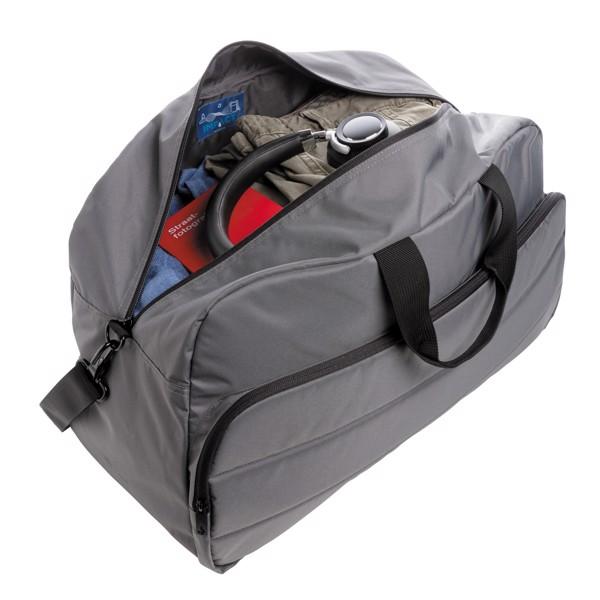 Víkendová taška Impact z RPET AWARE™ - Antracitová