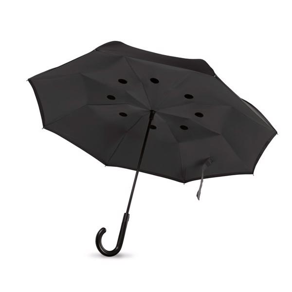 Reversible umbrella Dundee - Black