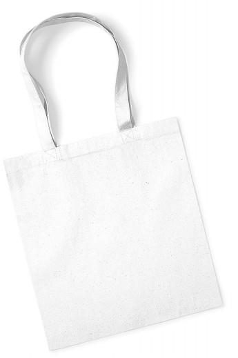 Torba bawełniana Premium Organic  - White