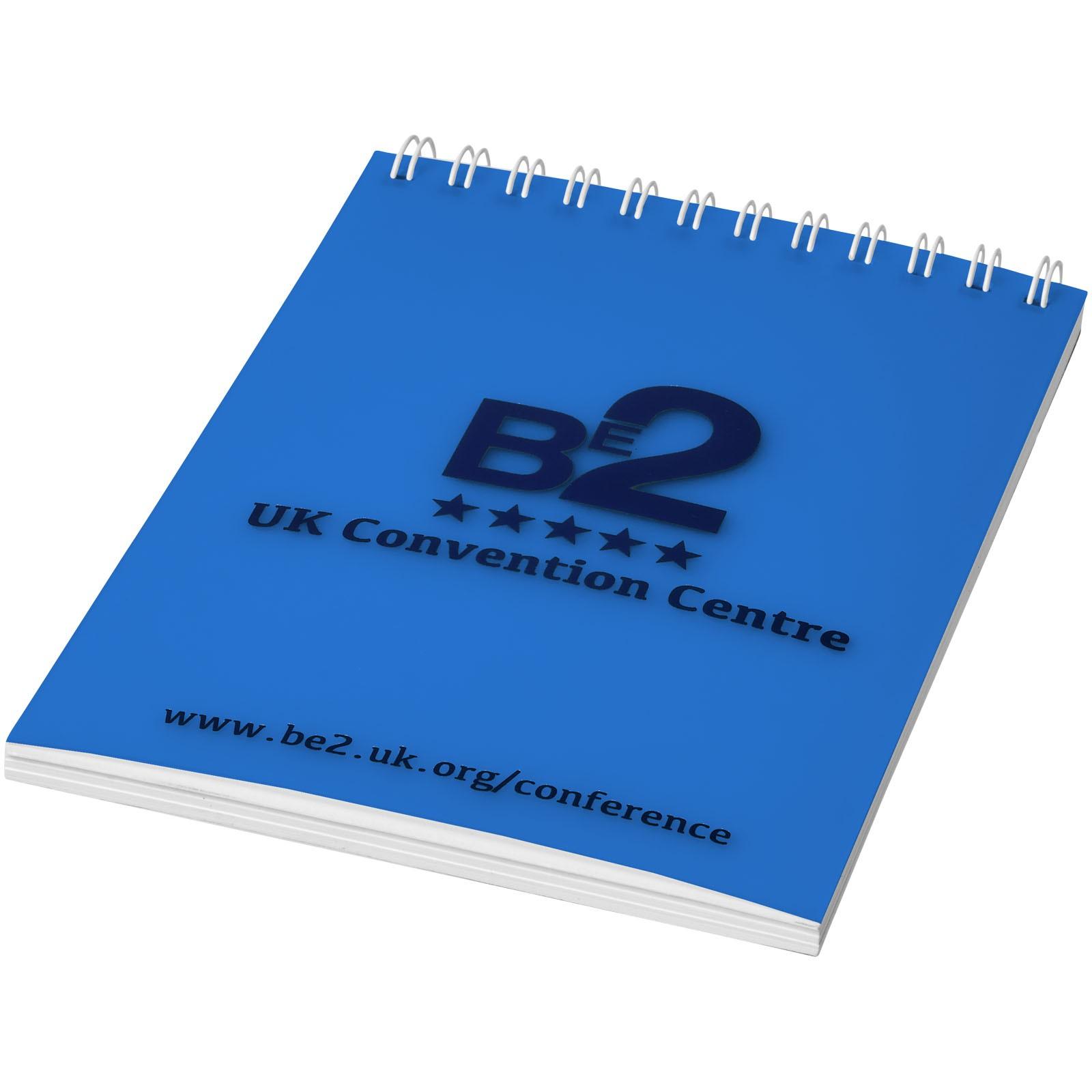 Poznámkový blok Rothko A6 - Modrá / Bílá / 50 pages