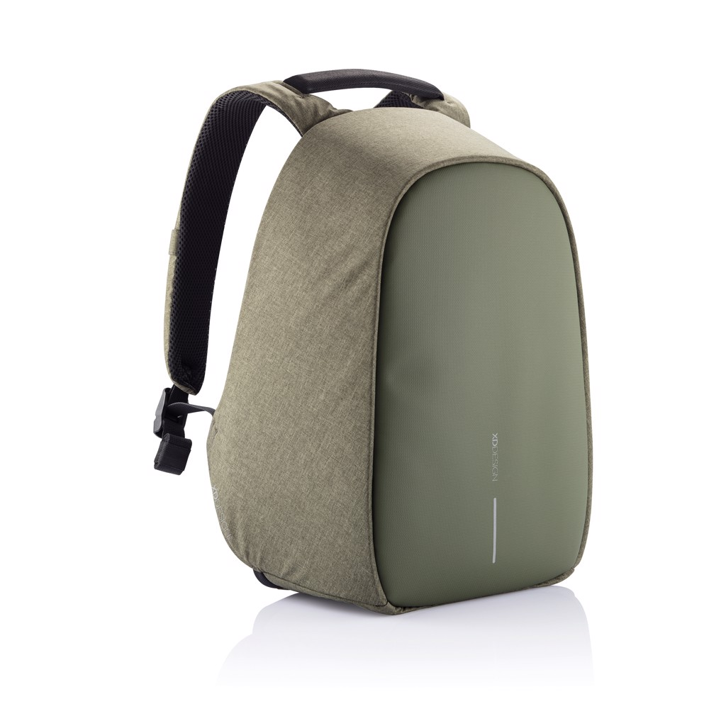 Bobby Hero Regular lopásbiztos hátizsák - Zöld