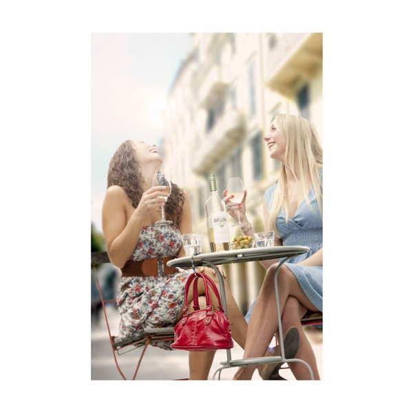 LadiesGift bag hook - White