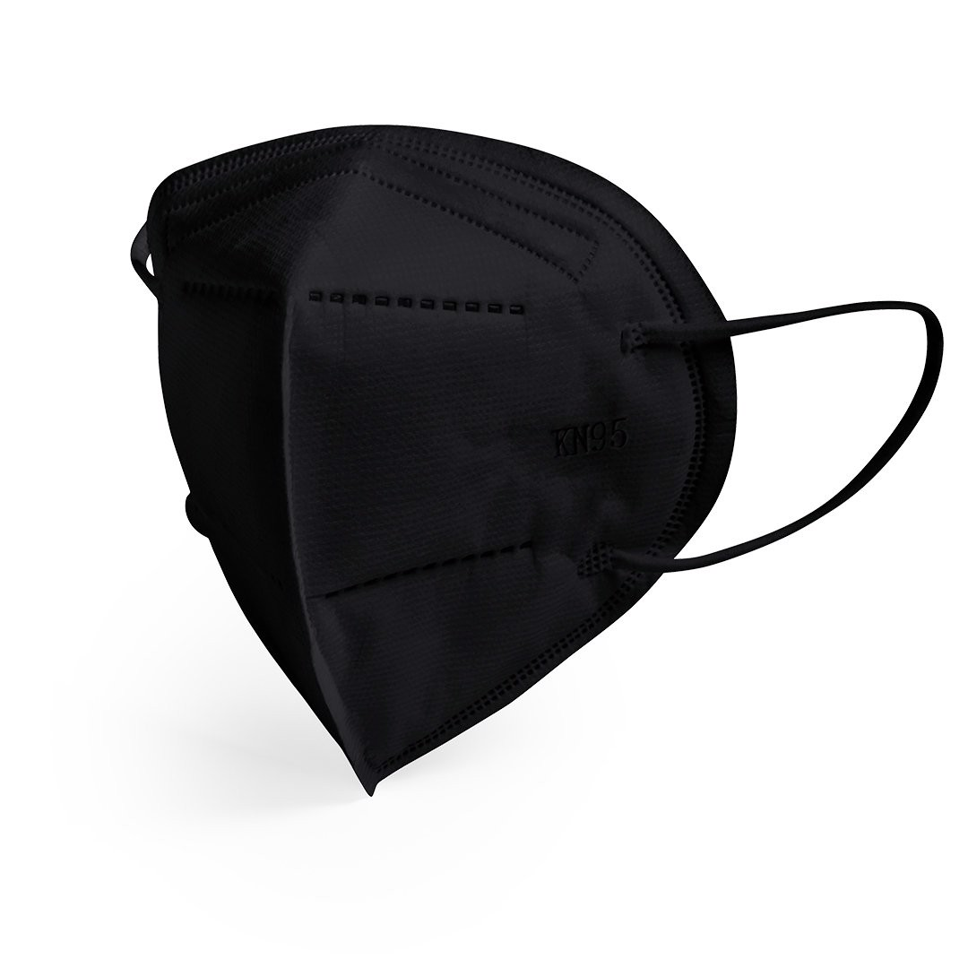 Mascarilla de Seguridad KN95 Bler - Negro