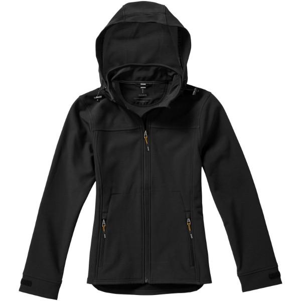 Dámská softshellová bunda Langley - Černá / M