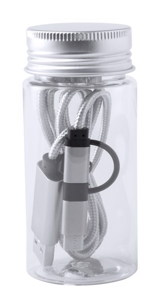 Usb Charger Cable Drimon - Silver