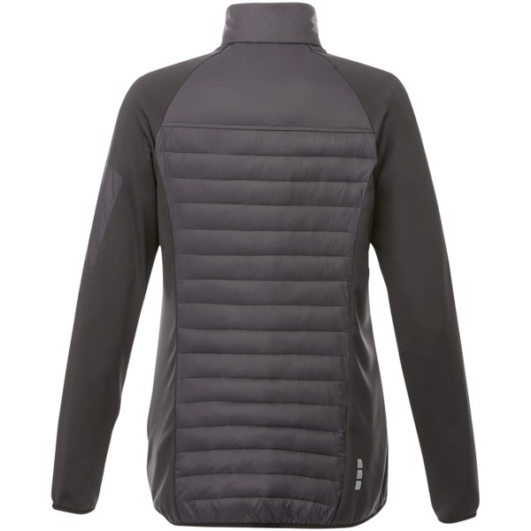 Banff hybrid insulated ladies jacket - Storm grey / XS