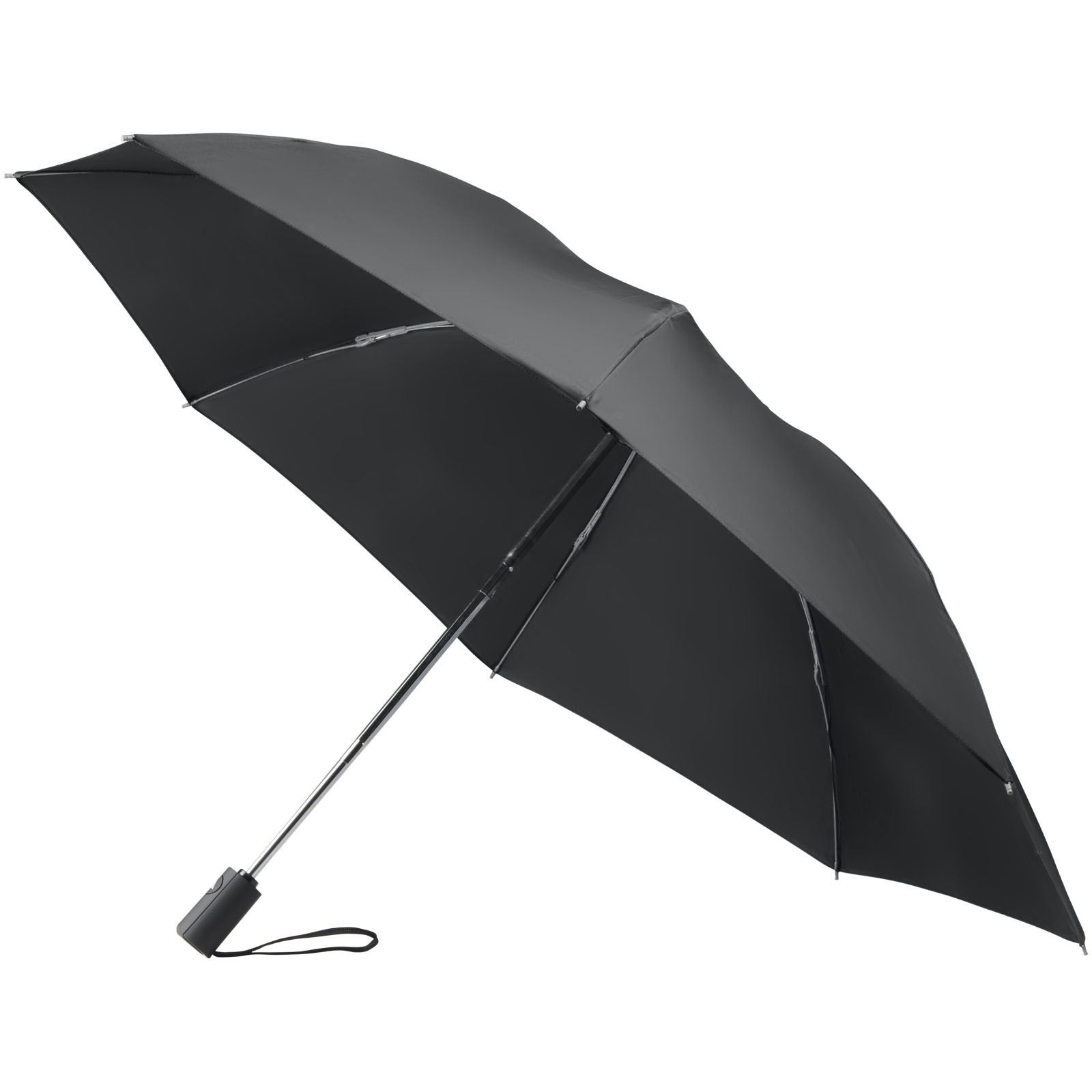 """23"""" skládací obrácený deštník Callao s automatickým otvíráním - Černá"""