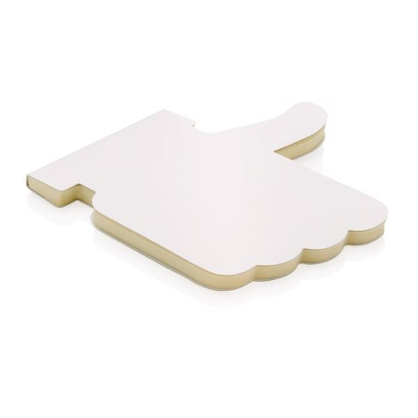 Tetszik alakú jegyzetfüzet