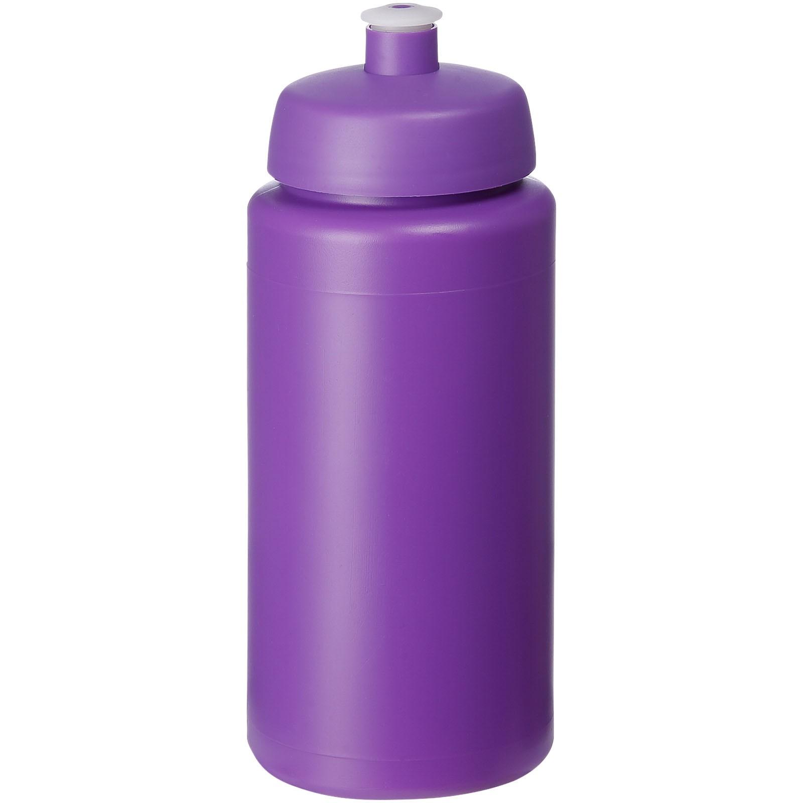 Baseline® Plus grip 500 ml sports lid sport bottle - Purple