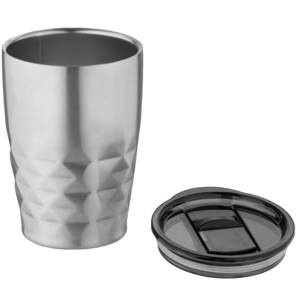 Geo 350 ml copper vacuum insulated tumbler - Silver