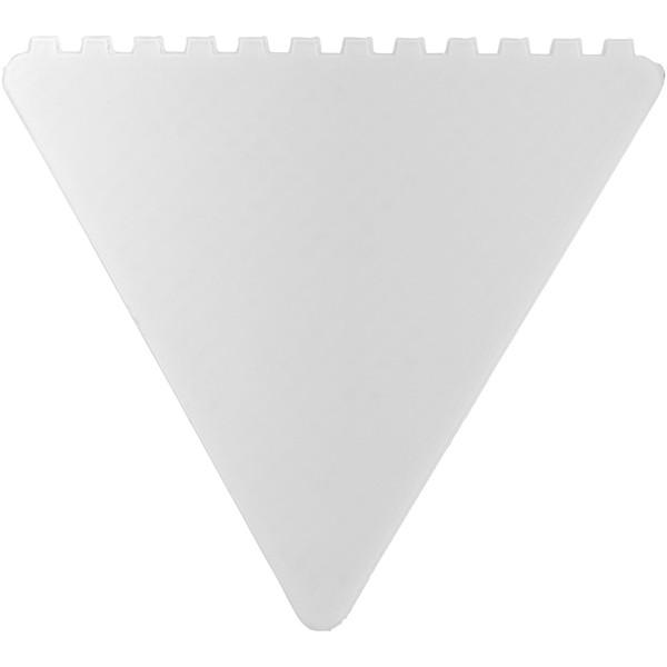 Trojúhelníková škrabka na led Frosty - Bílá