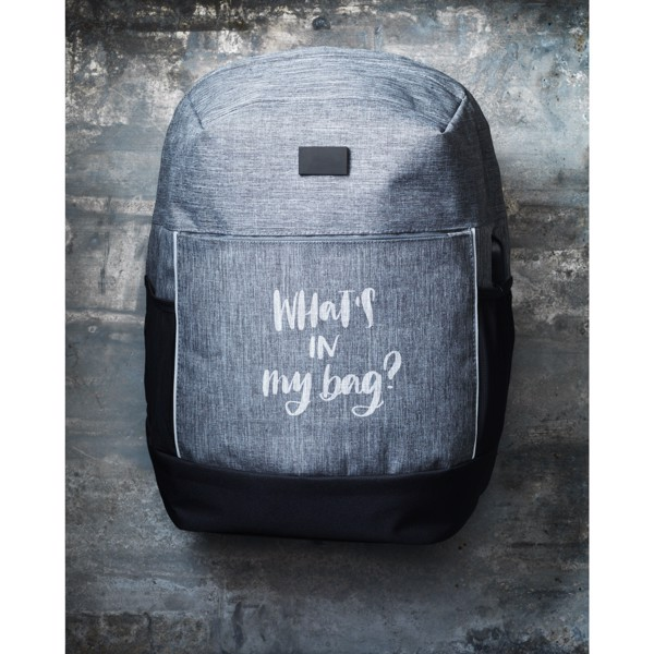 Jayden RFID Jayden RFID Anti-Theft backpack - Light Grey