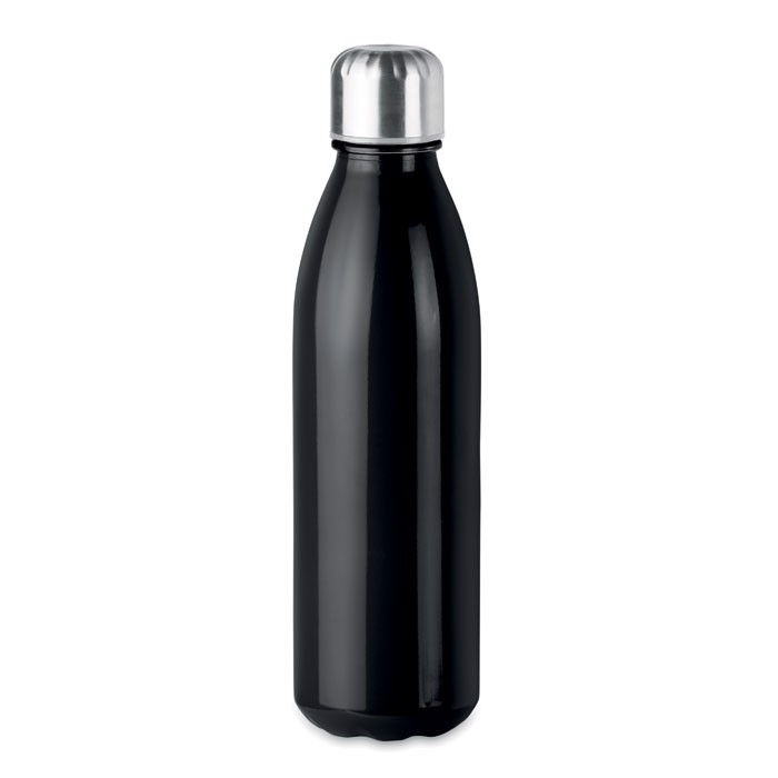 Botella de cristal 650 ml Aspen Glass - negro