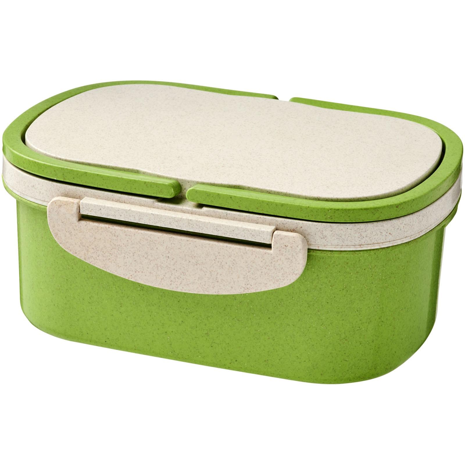 Krabička na svačinu z pšeničné slámy Crave - Limetka