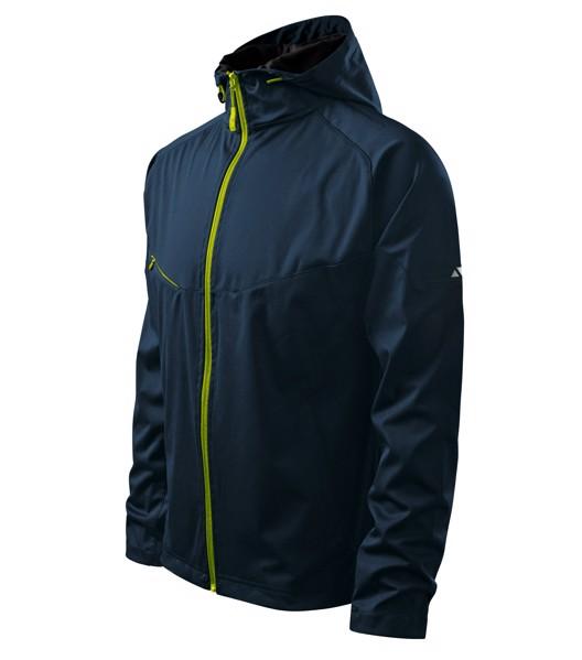 Softshellová bunda pánská Malfini Cool - Námořní Modrá / 3XL