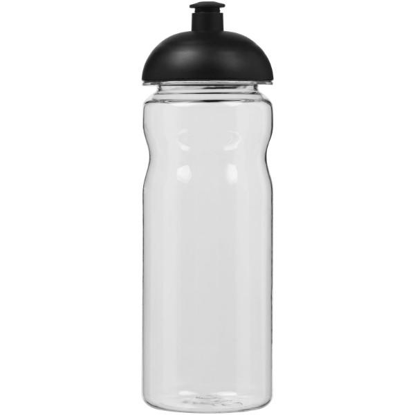 Base Tritan™ 650 ml Sportflasche mit Stülpdeckel - Transparent / Schwarz