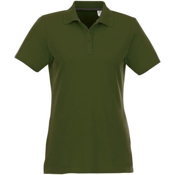 Dámská polokošile s krátkým rukávem Helios - Vojenská zelená / S