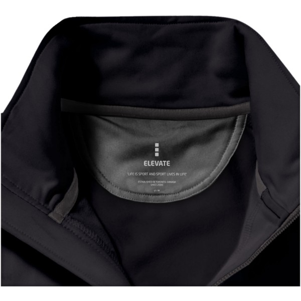 Mani power fleece full zip jacket - Solid Black / XS