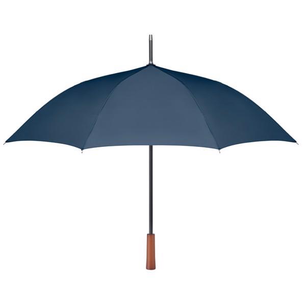 23 inch wooden handle umbrella Galway - Blue