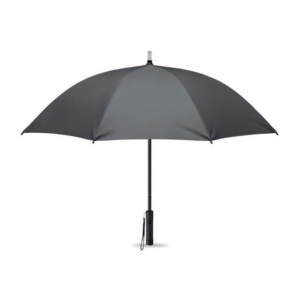 Umbrella w/ top light and torch Lightbrella - Grey