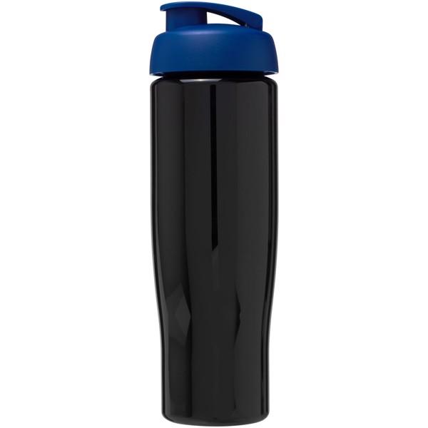 H2O Tempo® Bidón deportivo con Tapa Flip de 700 ml - Negro intenso / Azul