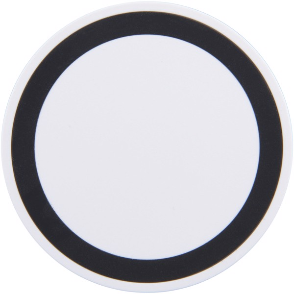 Freal wireless charging pad - White / Solid black