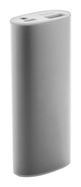 Usb Power Banka Cufton - Stříbrná / Bílá