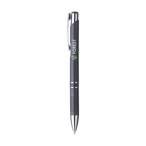 Ebony Wheat wheat straw ballpoint pens - Black
