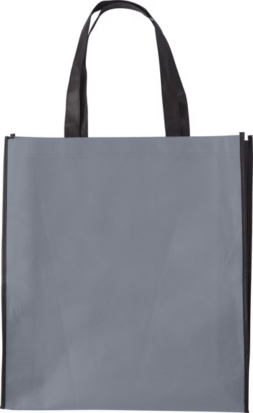Nonwoven (80 gr/m²) shopping bag - Grey