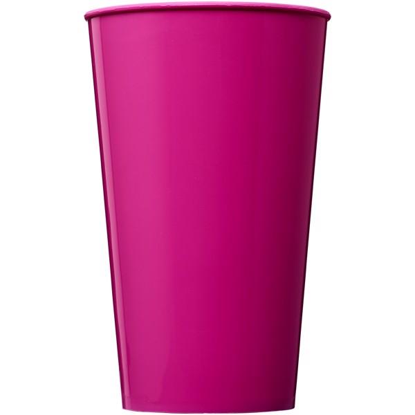 Plastový kelímek Arena 375 ml - Magenta