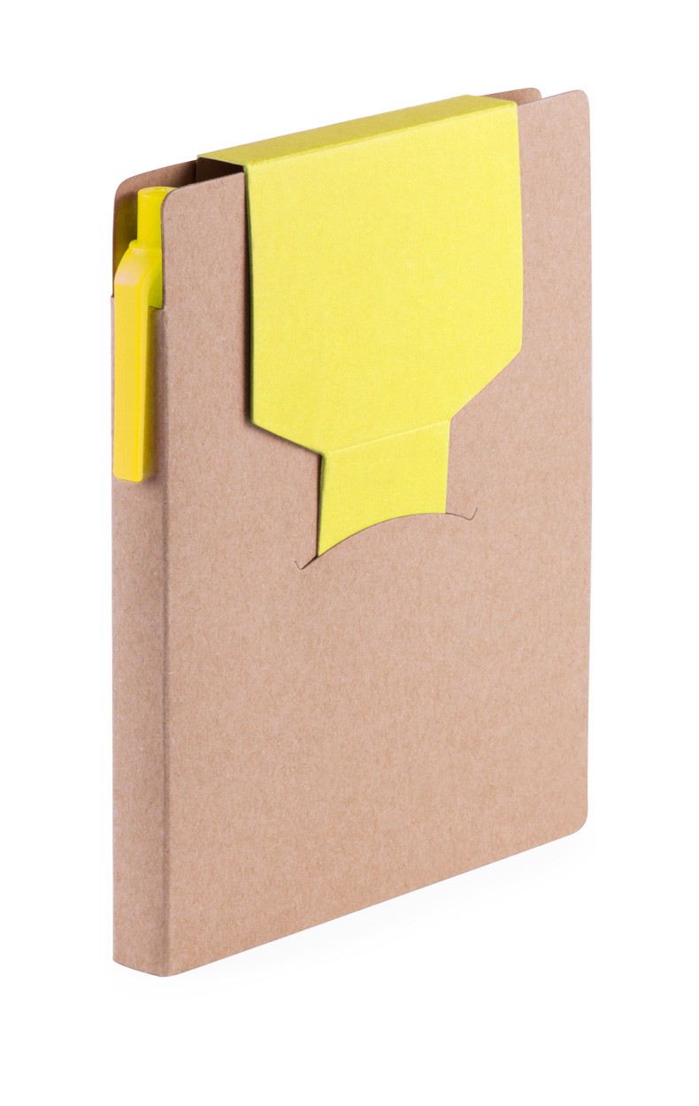Blok Cravis - Žlutá / Přírodní