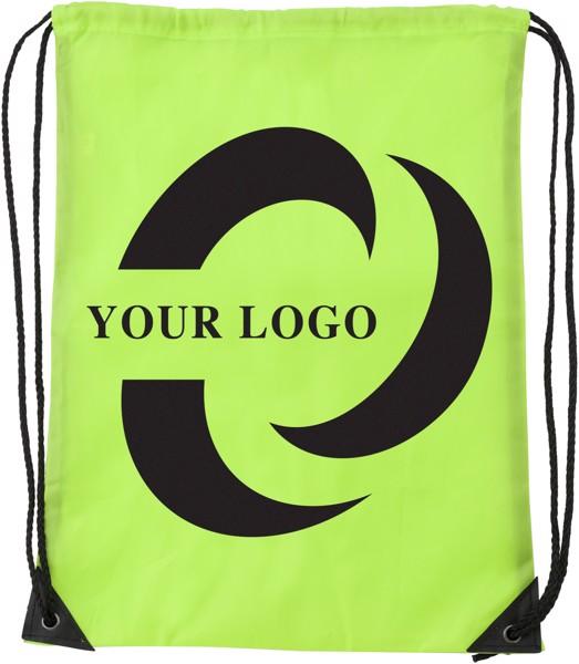 Polyester (210D) drawstring backpack - Light Blue