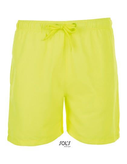 Sandy Swimming Suit - Neon Yellow / XXL
