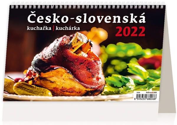 Týdenní kalendář Česko-slovenská kuchařka 2022