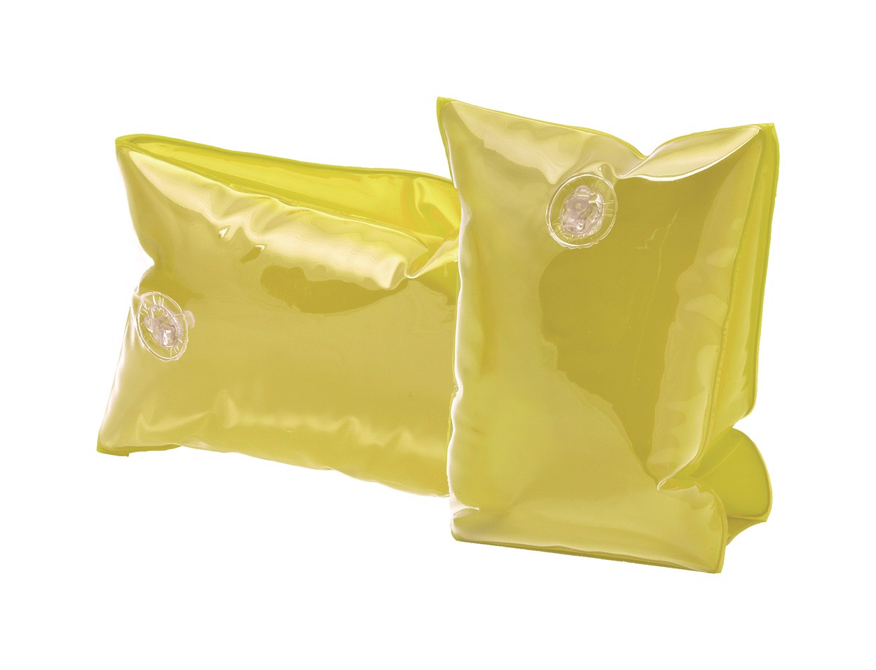 Nafukovací Rukávky Sanvi - Průhledná Žlutá