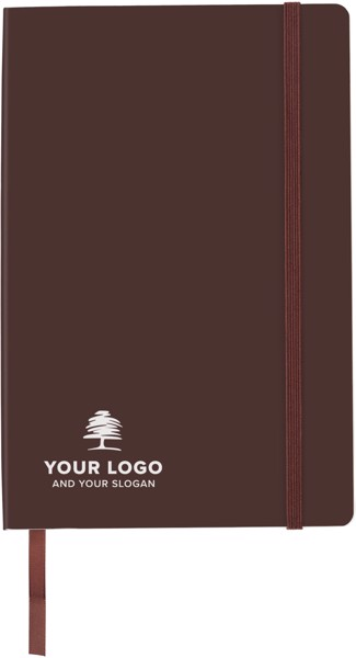 PU notebook - Brown