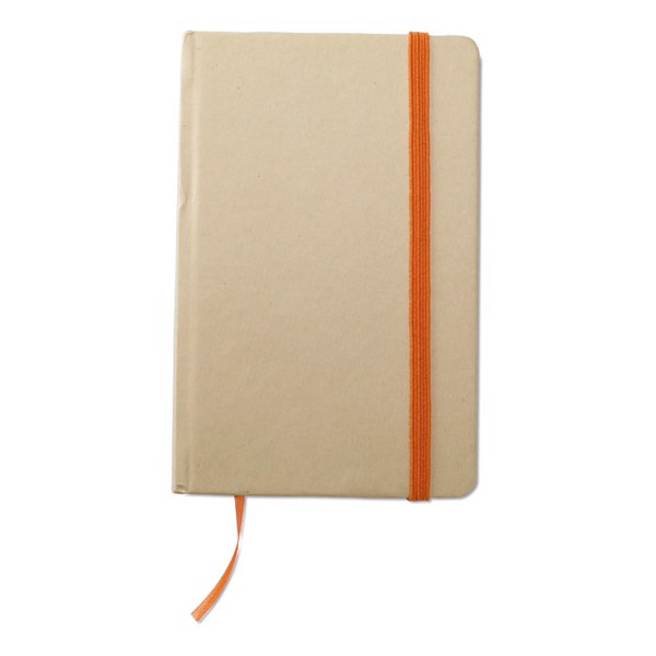 Recycled material notebook Evernote - Orange