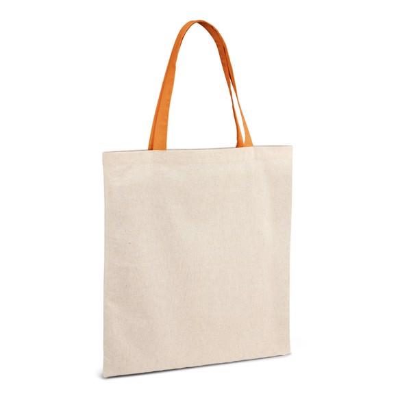 KOLONAKI. 100% bavlněná taška - Oranžová