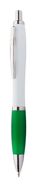 Kuličkové Pero Wumpy - Zelená / Bílá