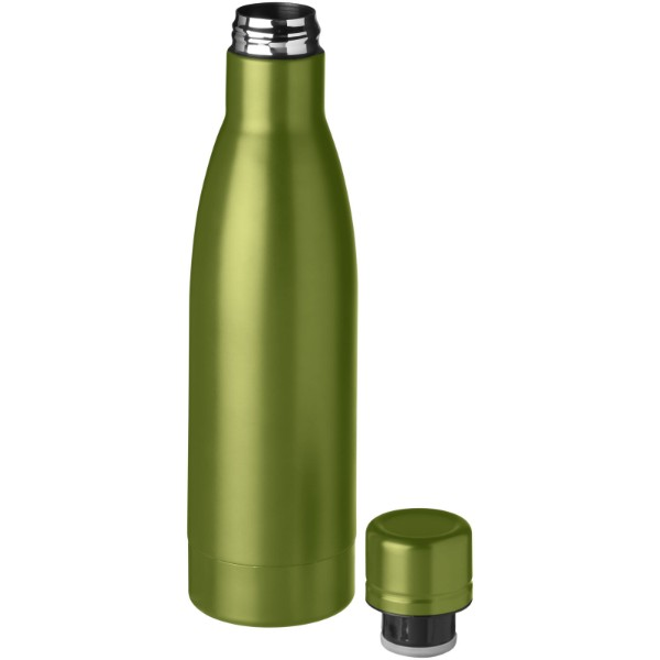 Vasa 500 ml copper vacuum insulated sport bottle - Lime