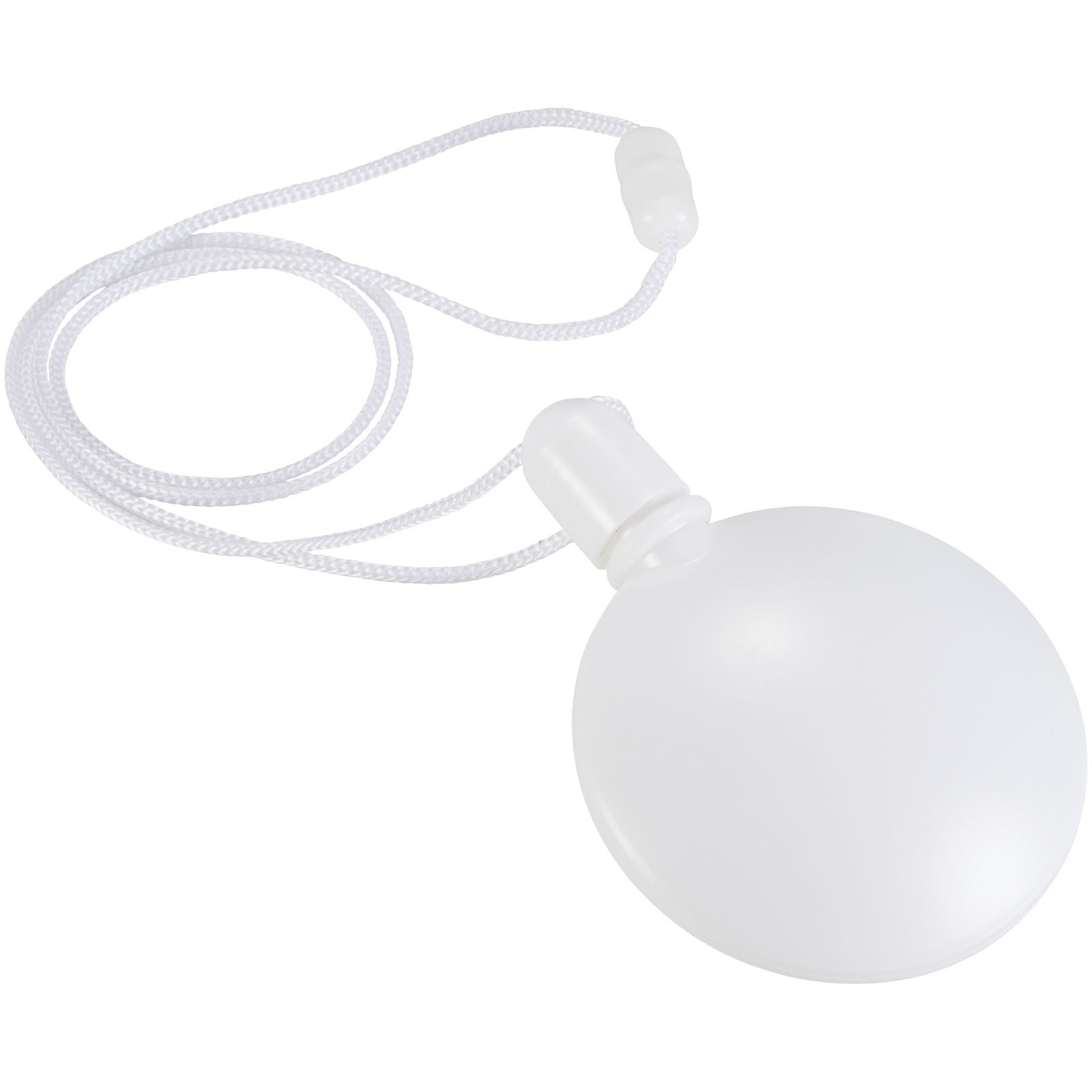 Blubber round bubble dispenser - White