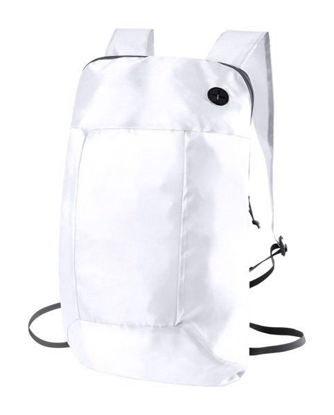 Foldable Backpack Signal - White