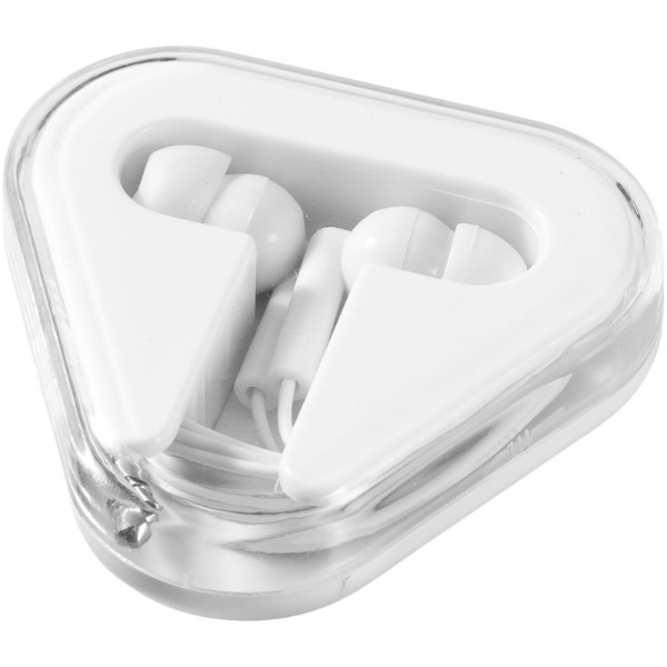 Rebel earbuds - White
