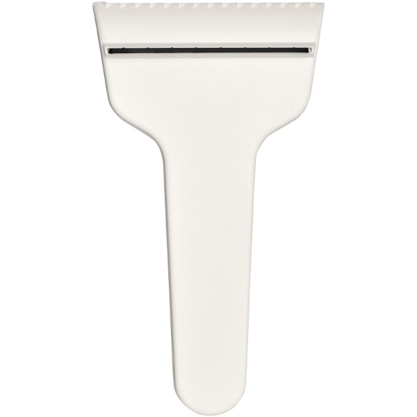 Shiver t-shaped ice scraper - White
