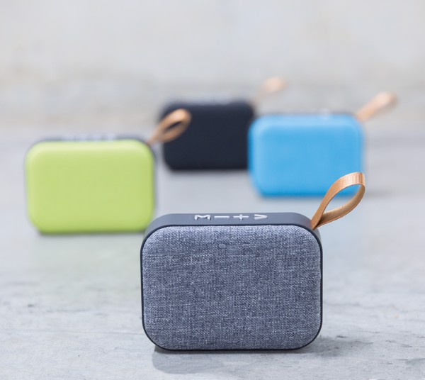 Fabric trend speaker - Black / Black