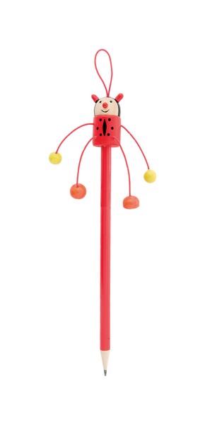 Wooden Pencil Farm, Ladybird - Red